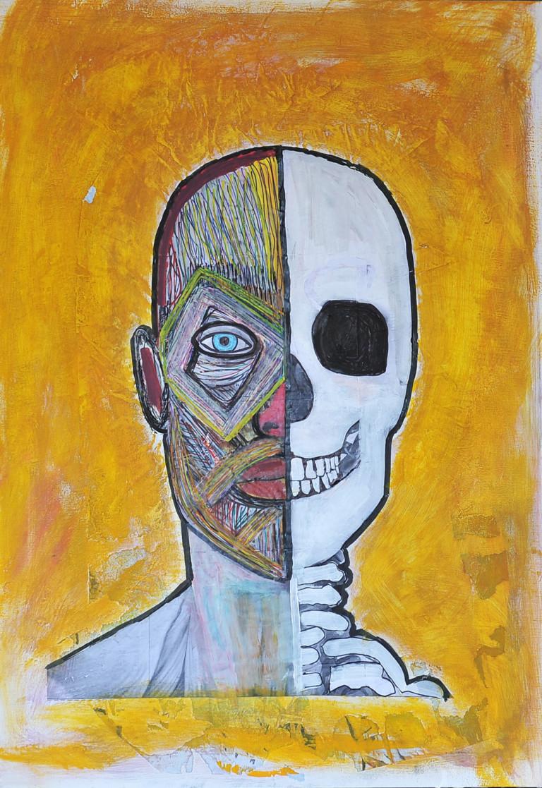 Fabrizio Inglese L'altra metà di me è uno scheletro